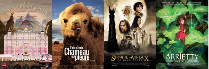 quels films aimez-vous?