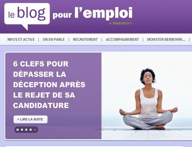Interview de Sylvaine Pascual sur la gestion de la déception suite au rejet d'une candidature