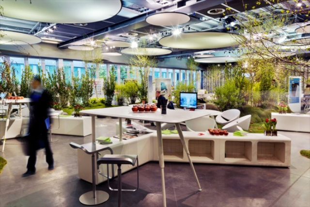 bureaux Think Garden à Milan