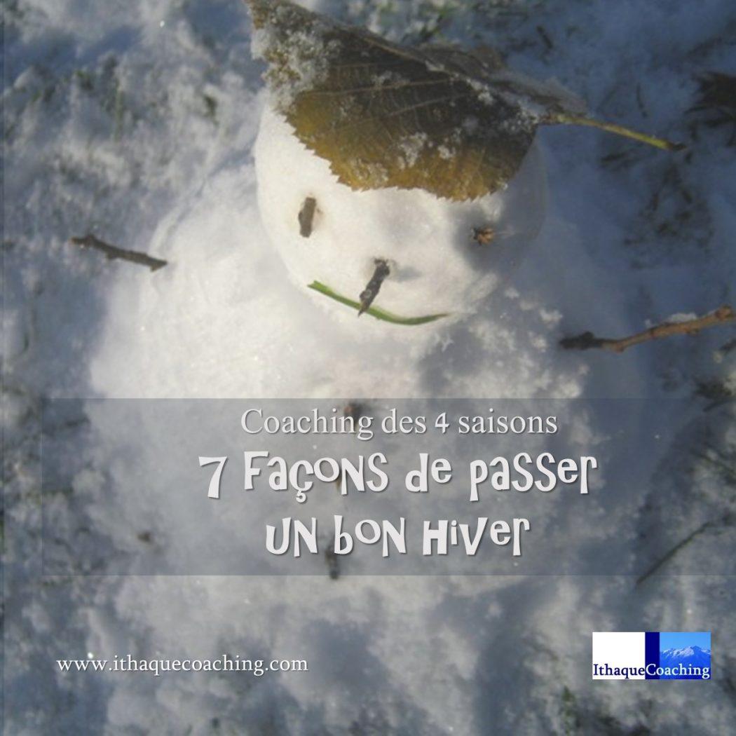 Coaching des 4 saisons: 7 façons de passer un bon hiver