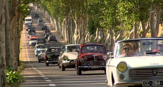 embouteillages ou pneus crveés, il y a toujours des imprévus dans les reconversions plus nationale 7 qu'autoroute du soleil