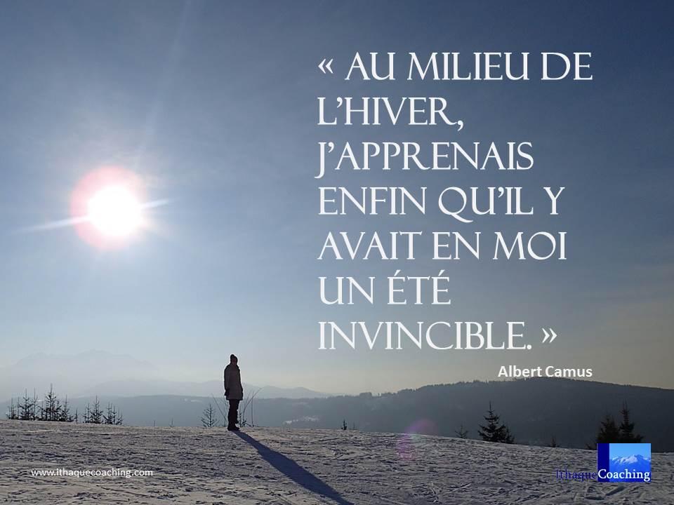 au milieu de l'hiver j'apprenais enfin qu'il y avait en moi un été invincible