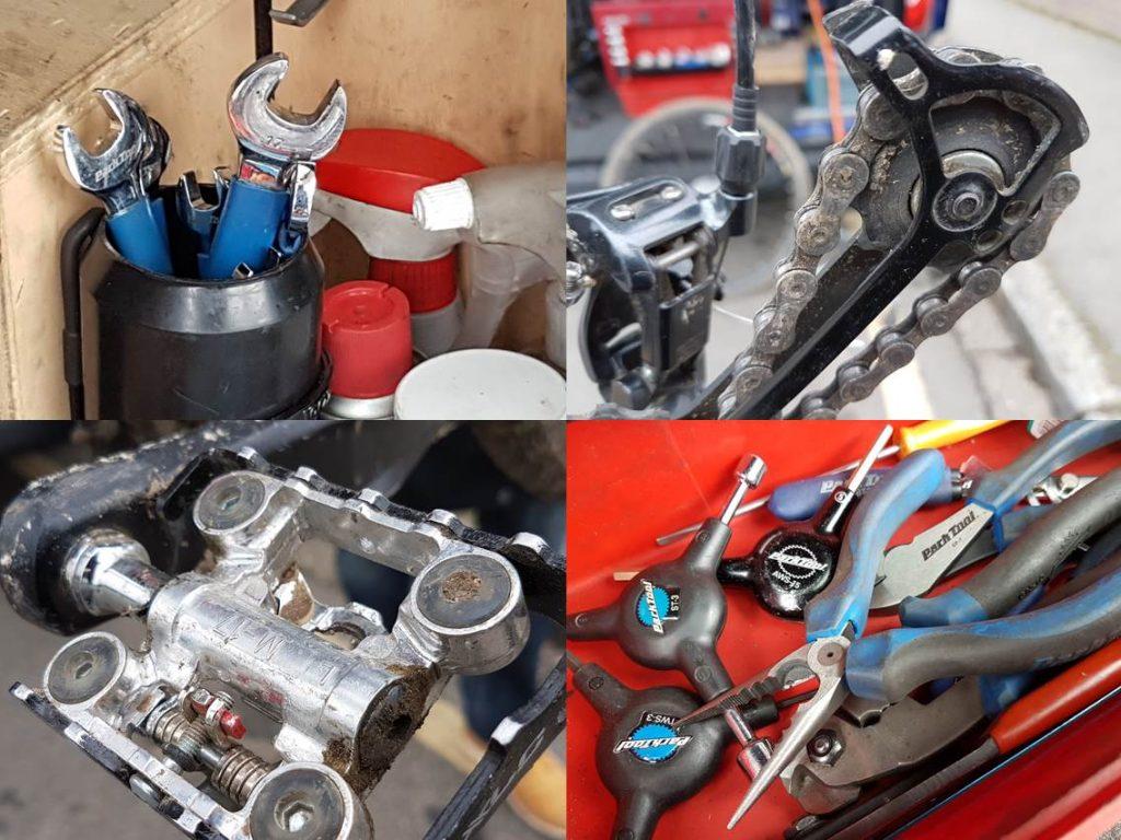 reconversion mécanique vélo
