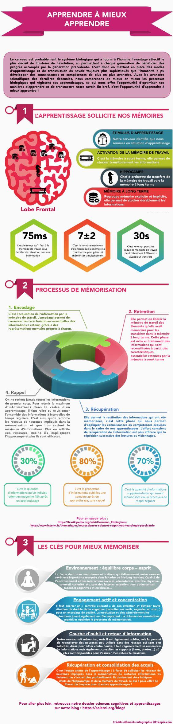 Les mécanismes de la mémoire et de l'apprentissage et comment les optimiser