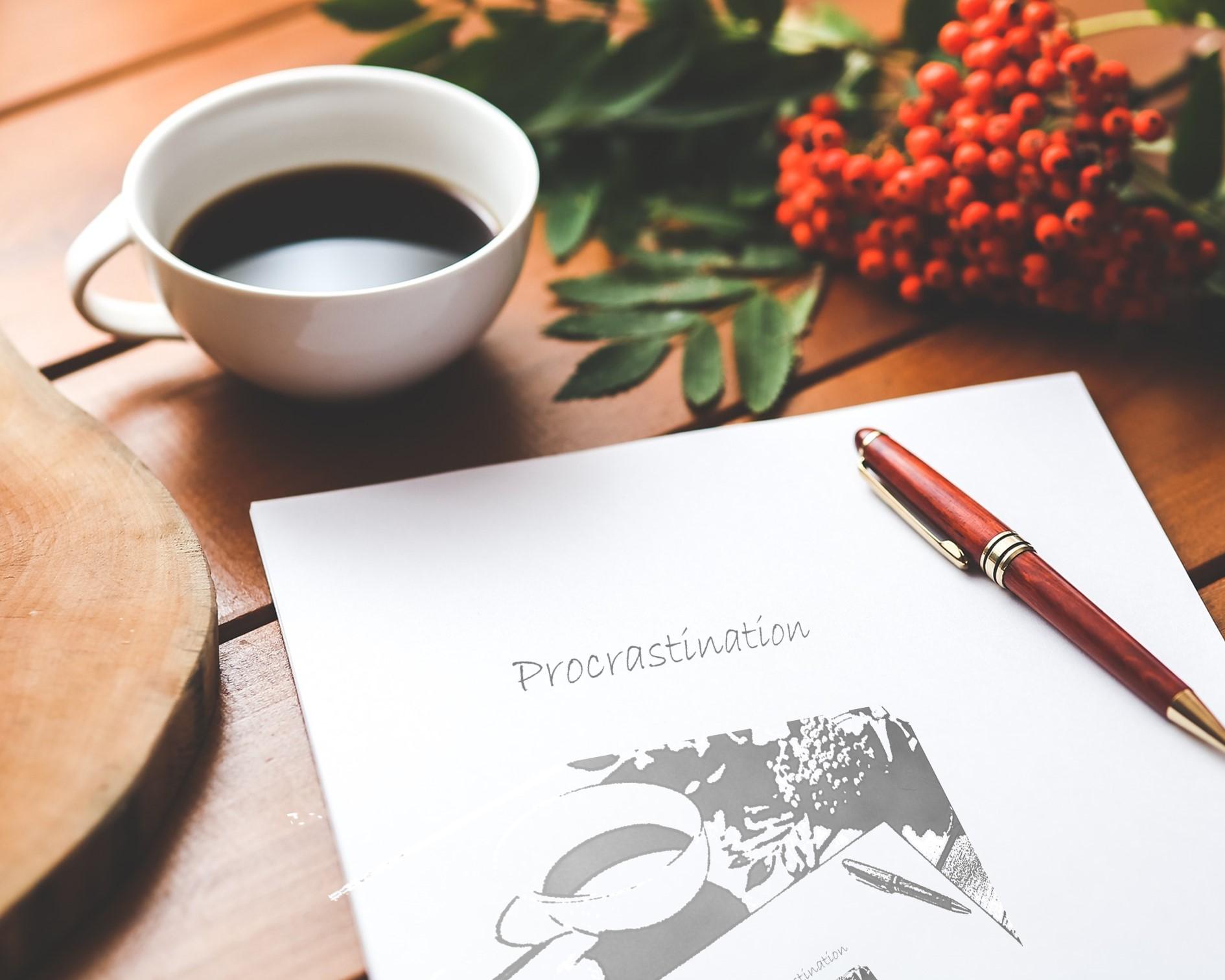 La procrasination est un système de protection