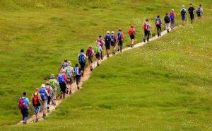 la reconversion découpée en étapes, c'est comme un trekking à la queue-leu-leu: ça n'a ni le goût ni la satisfaction du parcours personnalisé