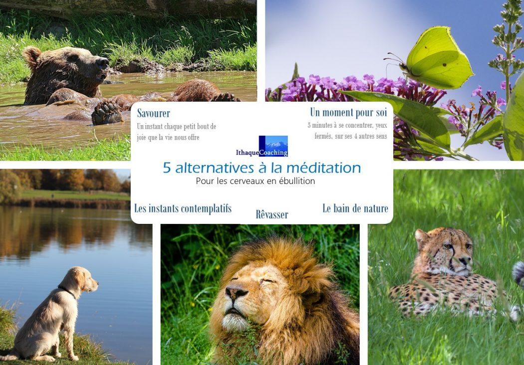 5 alternatives pour ceux qui n'aiment pas méditer